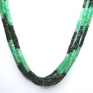 Natural Emeralds- Panna | String(mala) | 334.13ct.@44/-